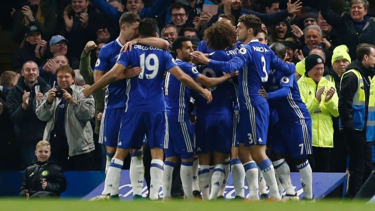 18.10 Liga Mistrzów Chelsea - Roma