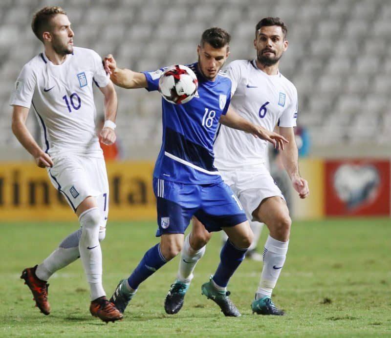 07.10 Eliminacje MŚ Piłka Nożna, Cypr – Grecja