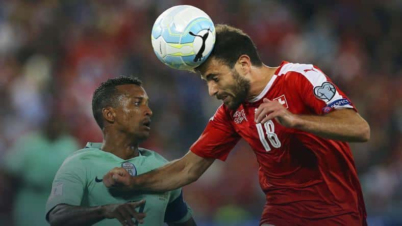 11.10 Eliminacje MŚ Piłka Nożna, Portugalia – Szwajcaria
