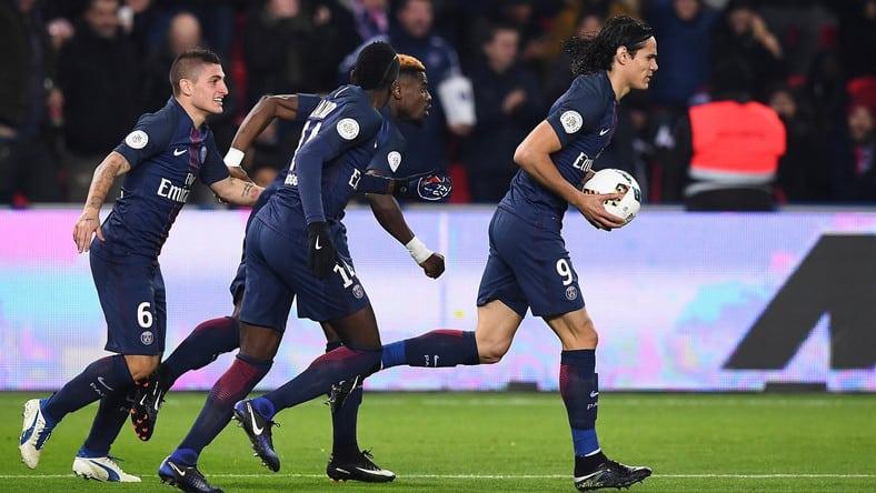 PSG Nice mecz