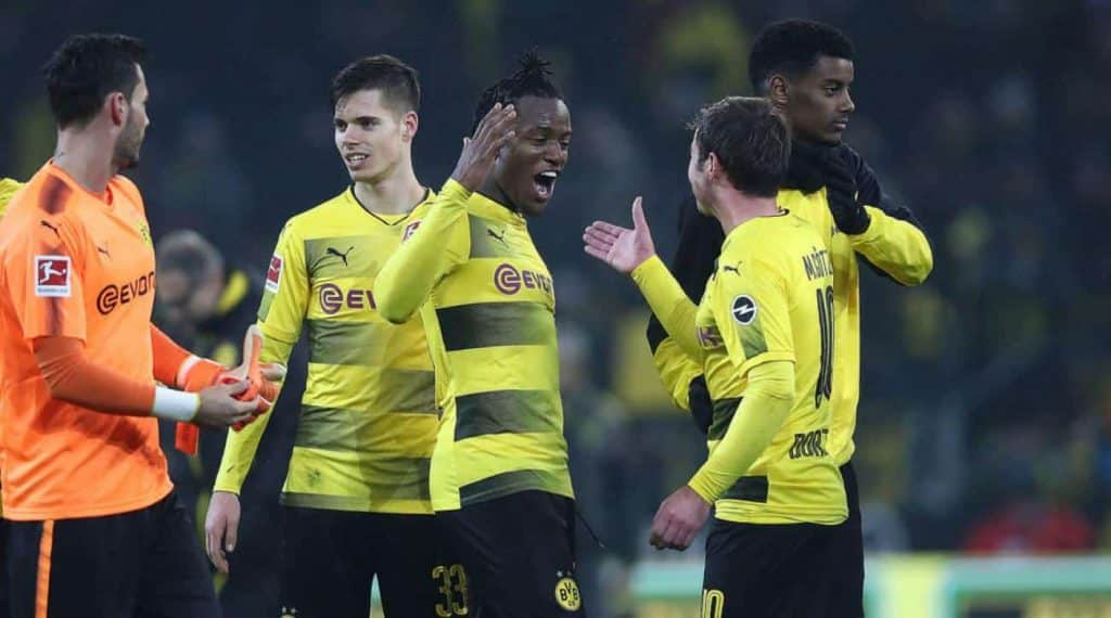 Atalanta vs Borussia Dortmund