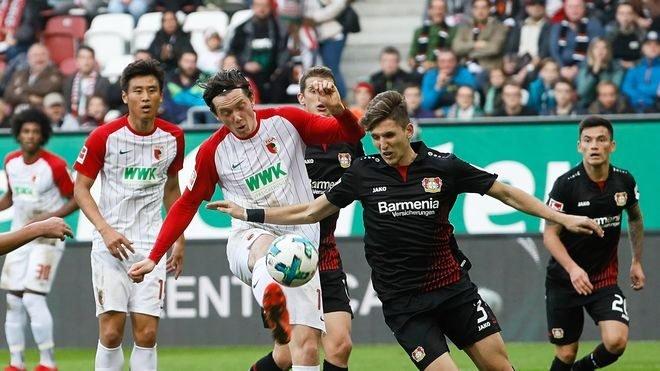 Legalni bukmacherzy online przygotowali atrakcyjną ofertę na mecz Bayer vs FC Augsburg
