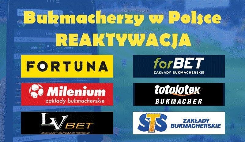 Bukmacherzy w Polsce – REAKTYWACJA. Prześwietlimy od A do Z wszystkich Polskich bukmacherów. Zestawienie Polskich bukmacherów – Marzec 2018!