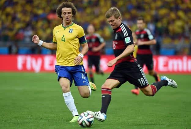 Niemcy vs Brazylia
