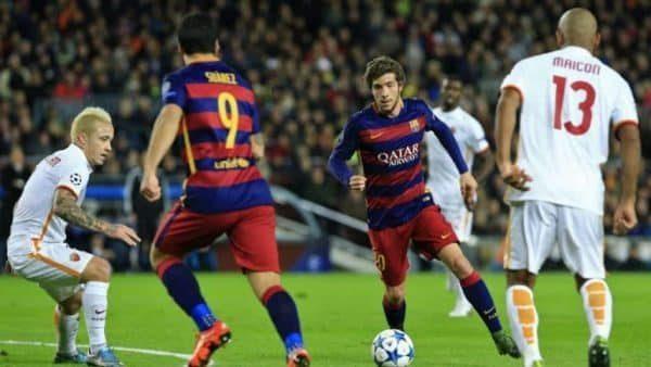 Barcelona kontra Roma w Lidze Mistrzów. Zakłady bukmacherskie bez depozytu
