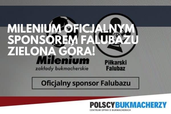 Polski legalny bukmacher Milenium Zakłady bukmacherskie zostało oficjalnym sponsorem Falubazu Zielona Góra!