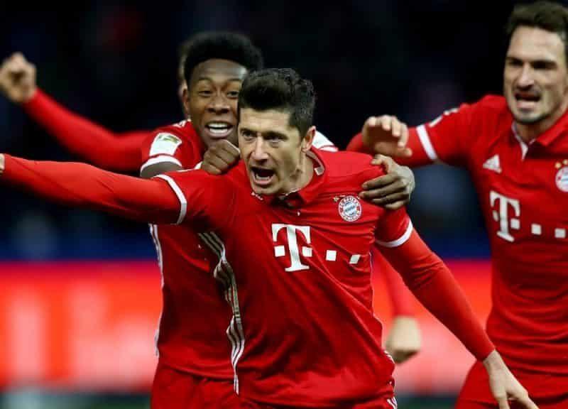Bayern Monachium vs Eintracht Frankfurt w ofercie Forbet