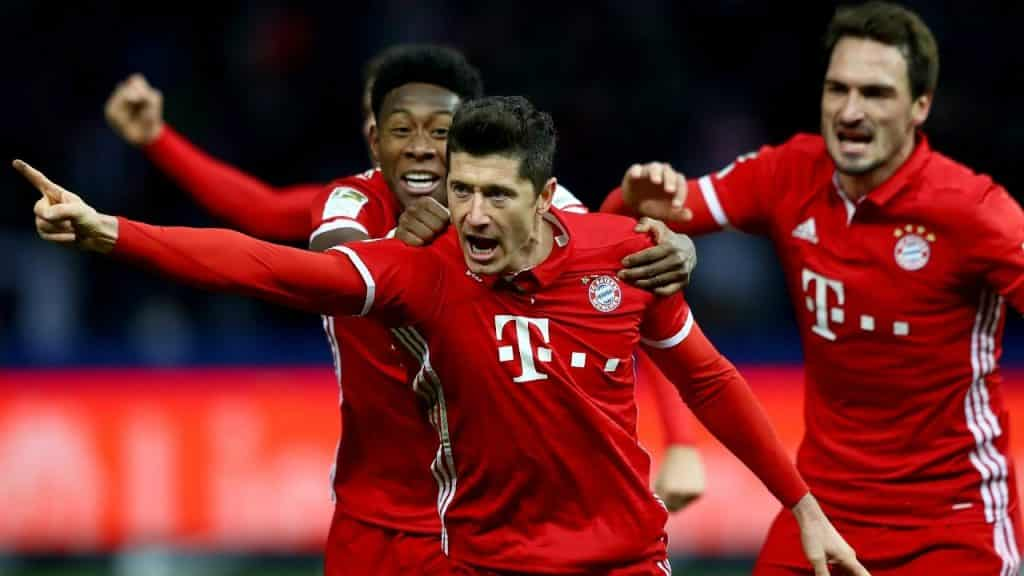 Bayern Monachium vs Eintracht Frankfurt