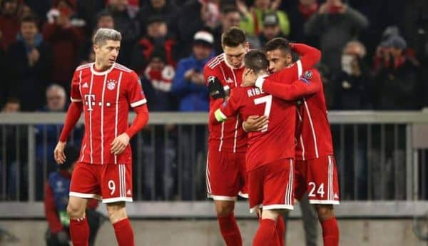 Bayern Monachium vs VfB Stuttgart