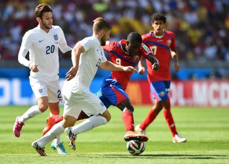 Anglia vs Kostaryka