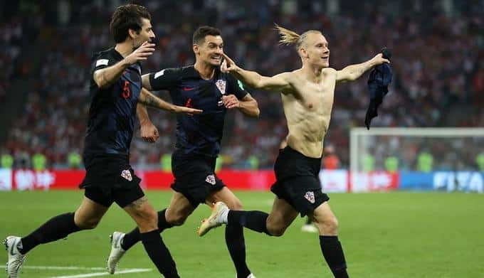 Chorwacja vs Anglia